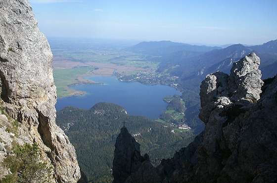 Mountains next to Kochelsee