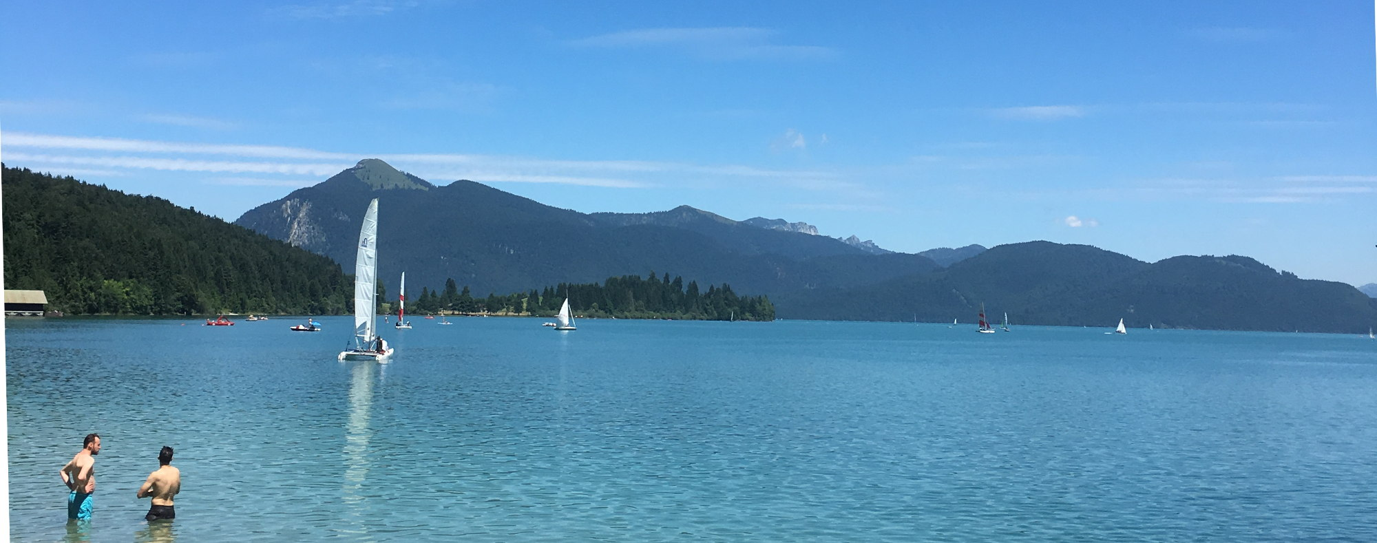 23 Hotels Walchensee Kochelsee Pension Zimmer